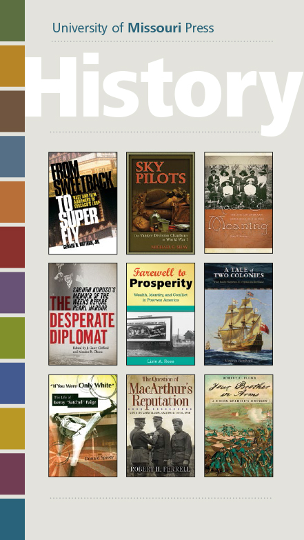 University Of Missouri Press History 17 Catalog 1